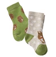 Baby Organic Cotton Socks Color: 697 squirrel