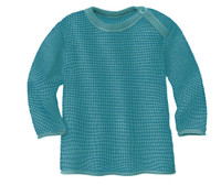 Disana Organic Wool Melange Sweater Color: 922 Blue Lagoon
