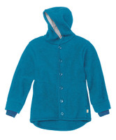 Disana Organic Boiled Wool Jacket Color: Blue