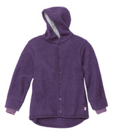 Disana Organic Boiled Wool Jacket Color: Plum