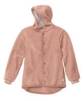 Disana Organic Boiled Wool Jacket Color: Rose