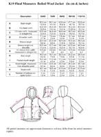 Disana size chart