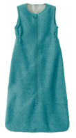 Disana Boiled Wool Sleep Sack Color: Lagoon