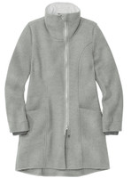 Disana Organic Boiled Wool Women's Coat Color: Grey