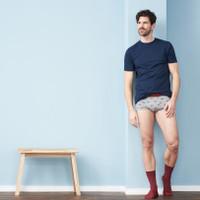 Men's Underwear Color: 727 bicycle/mid blue