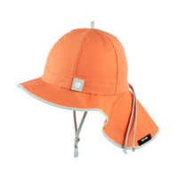 Organic Cotton Summer Hat Color: 104 papaya