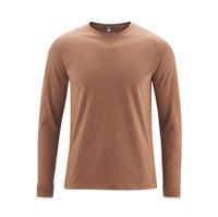 Men's Long-sleeved shirt Color: 789 rust