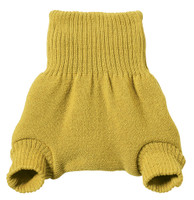 Organic Merino Wool Diaper Cover Color:  Curry