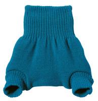Organic Merino Wool Diaper Cover Color: Blue