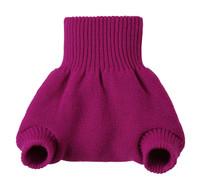 Organic Merino Wool Diaper Cover Color: Berry