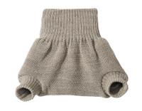 Organic Merino Wool Diaper Cover Color: Grey