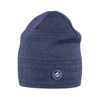 Organic Merino Wool, Cotton, Silk Hat Color: 301 dark ink