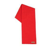 Organic Merino Wool, Cotton, Kids scarf  Color: 15 red