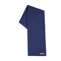Organic Merino Wool, Cotton, Kids scarf  Color: 304 blue print