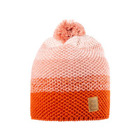 Organic Merino Wool, Cotton, Silk Hat Color: 192 burnt coral