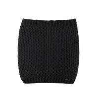 Women Organic Merino Wool Neck Warmer Color: 99 Black