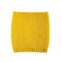 Women Organic Merino Wool Neck Warmer Color: 05 Yellow