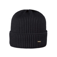 Organic Marino Wool Men Hat Color: 99 black