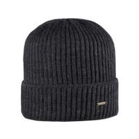 Organic Marino Wool Men Hat Color: 97 anthrazit