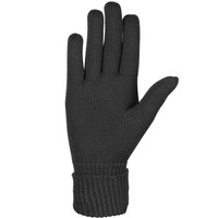 Organic Merino Wool Ladies Gloves Color: 99 black