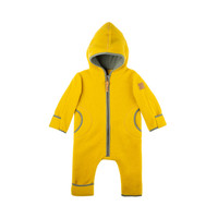 Organic Merino Wool Baby Bunting Color: 09 lemon curry
