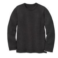 Disana Organic Wool Basic Lightweight Sweater Color: 199 Anthracite