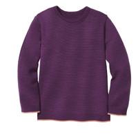 Disana Organic Wool Basic Lightweight Sweater Color: 693 Plum