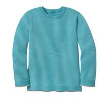 Disana Organic Wool Basic Lightweight Sweater Color:  219 Lagoon