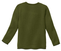 Disana Organic Wool Basic Lightweight Sweater Color: 581 Olive