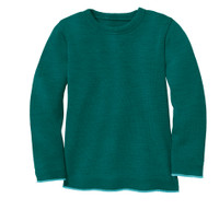 Disana Organic Wool Basic Lightweight Sweater Color: 281 Pacific