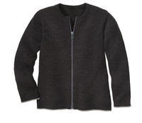 Disana Organic Wool Lightweight Cardigan Jacket Color: 199 Anthracite