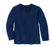 Disana Organic Wool Lightweight Cardigan Jacket Color: 294 Navy