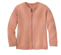 Disana Organic Wool Lightweight Cardigan Jacket Color:  315 Rose