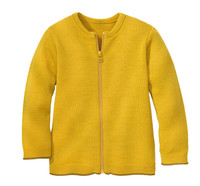 Disana Organic Wool Lightweight Cardigan Jacket Color: 447 Curry