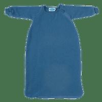 Organic Wool Fleece Long-Sleeved Sleep Sack Color: Pacific