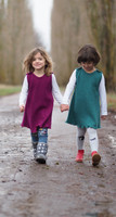 Organic Wool Girls Dress