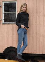 Organic Wool Krepp-fleece Women Shirt