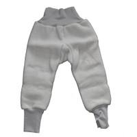 Organic Wool Fleece Cotton Baby Pants