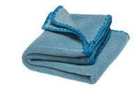 Disana Organic Wool Summer Blanket Color: 912 natural- blue jay