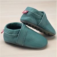 Slippers with insoles Color: Light Blue