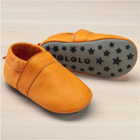Slippers with insoles Color: Yellow