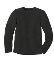 Disana Organic Wool Left-knit Jumper  Color: 199 Anthracite