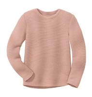 Disana Organic Wool Left-knit Jumper  Color: 315 Rose