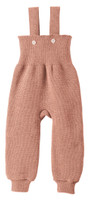 Disana Organic Wool Knitted Overalls Color: Rose