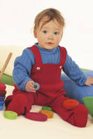 Disana Organic Wool Knitted Overalls Color:
