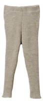 Organic Merino Wool Knitted Leggings Color: Grey