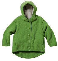 Disana Organic Boiled Wool Jacket Color: Green