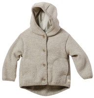 Disana Organic Boiled Wool Jacket Color: Grey