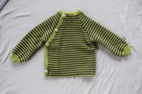 Kiwi/ Grey Stripes