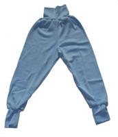 Organic Wool / Silk Baby Pants Color: Blue